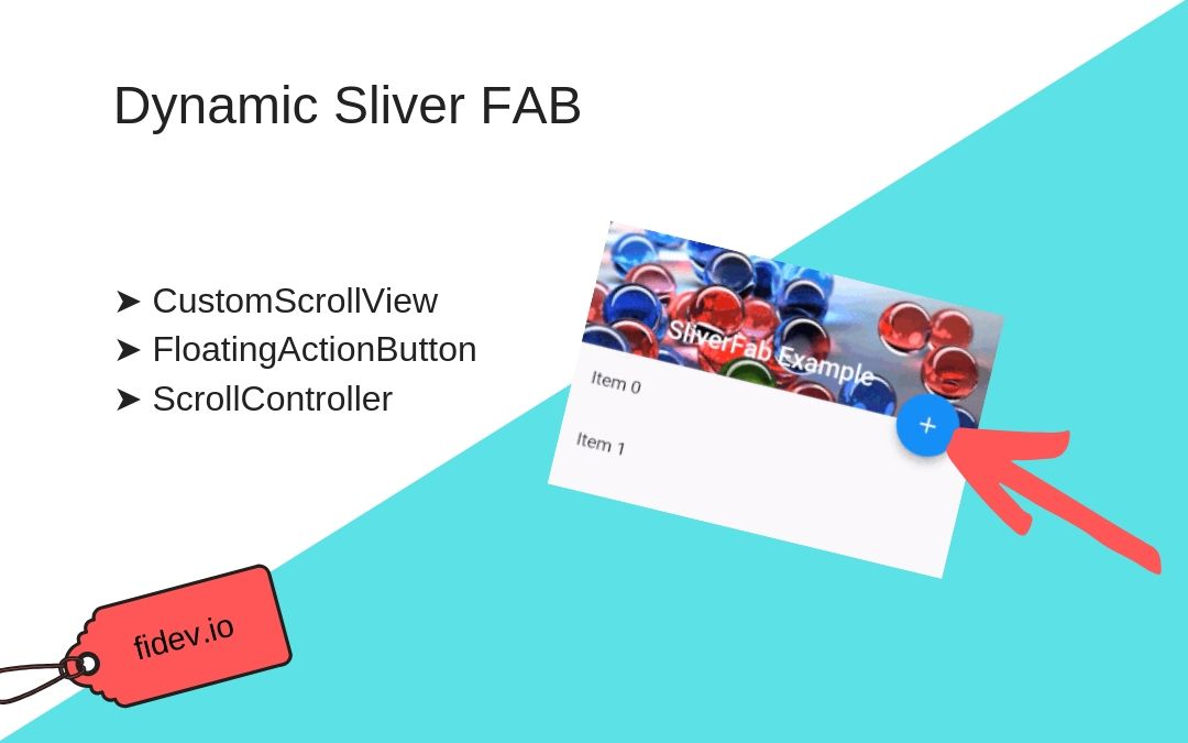 Dynamic Sliver FloatingActionButton