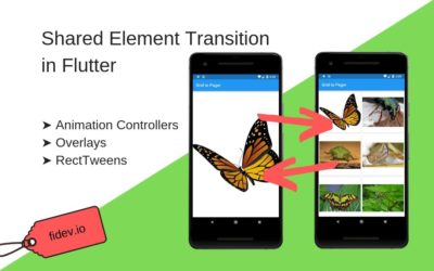 Shared Element Transition in Flutter