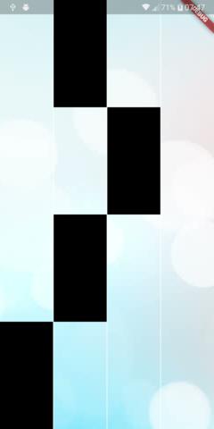 UI Challenge: Piano Tiles clone in Flutter - Fidev