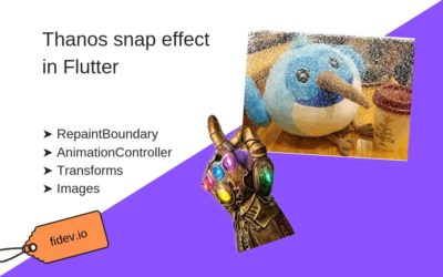 Thanos Snap Effect in Flutter