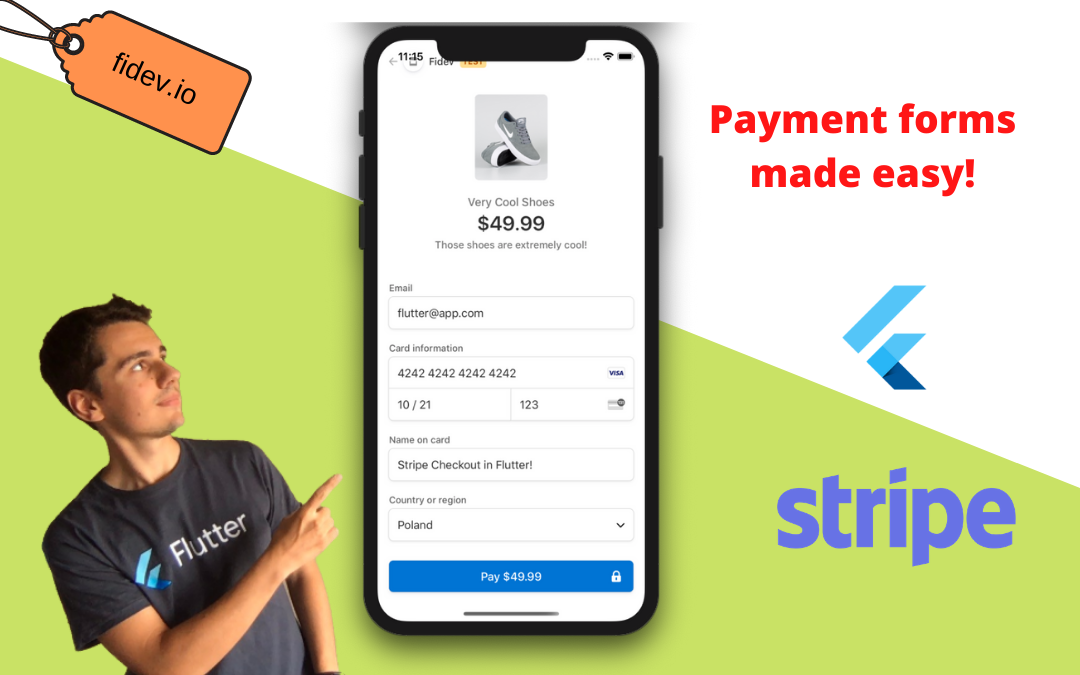 Stripe Checkout in mobile Flutter app