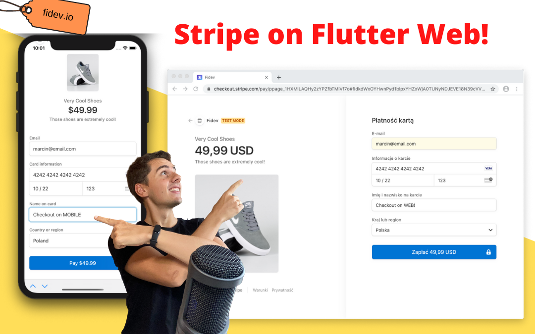 Stripe Checkout in Flutter Web